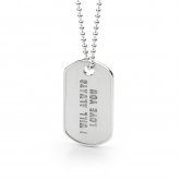 Dog Tag Pendant Small
