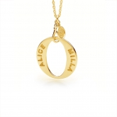 Everlasting O Pendant Small GOLD